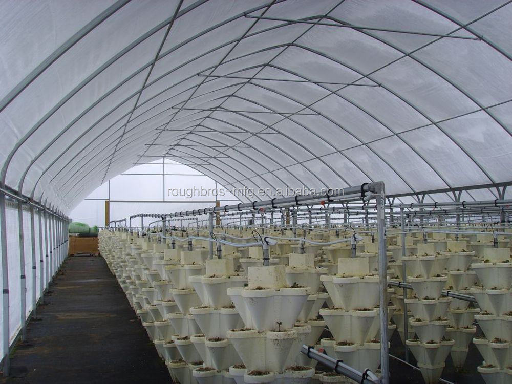 Commercial Green house Steel frame greenhouse for agriculture