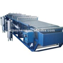 Dewatering machine belt filter press