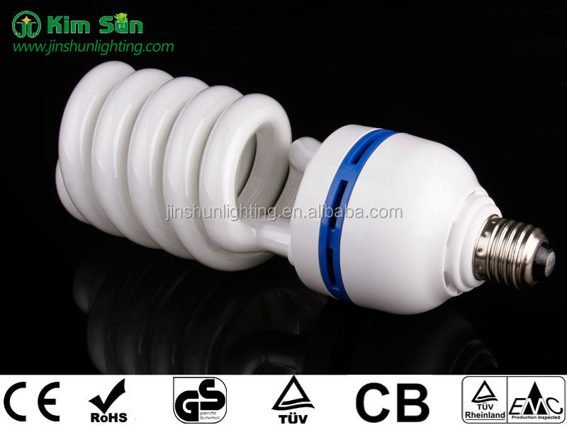 High Wattage Spiral CFL Bulbs 32 to 105 Watts