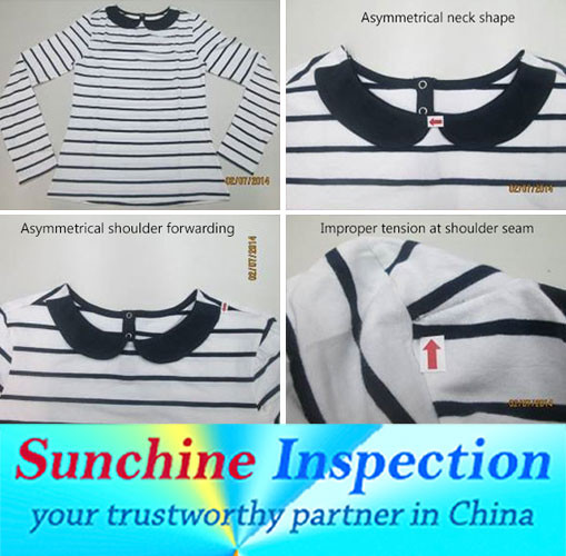 Sweather quality slogan and inspection services in China