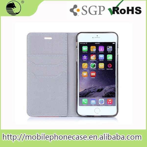 Cheap Goods From China Mobile Phone Accessories Pu Case For Iphone6 For Iphone6 For iPhone 6 plus 5.5