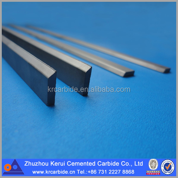 OEM Tungsten Carbide Strips With Angle Of Cemented Carbide