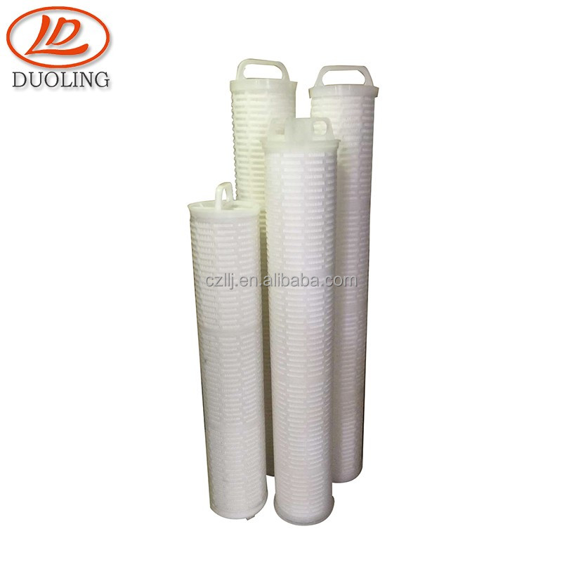 DL China supplier pp pleated high volume water filter