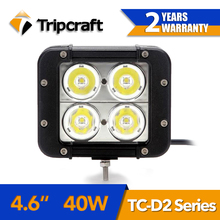 Double row 40w c ree off road led working light bar for heavy duty transport vehicle