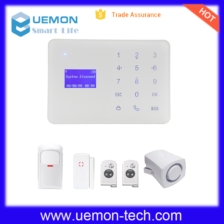 Smart Home GSM WIFI Burglar Security Alarm System for home security system