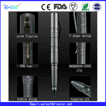 Wholesale Tactical pen military tungsten nib tactical defense pen with gift box