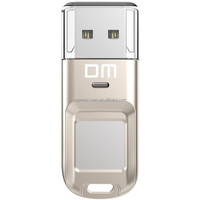 32GB 2.0 Silver Fingerprint USB Flash Drive Fingerprint lock