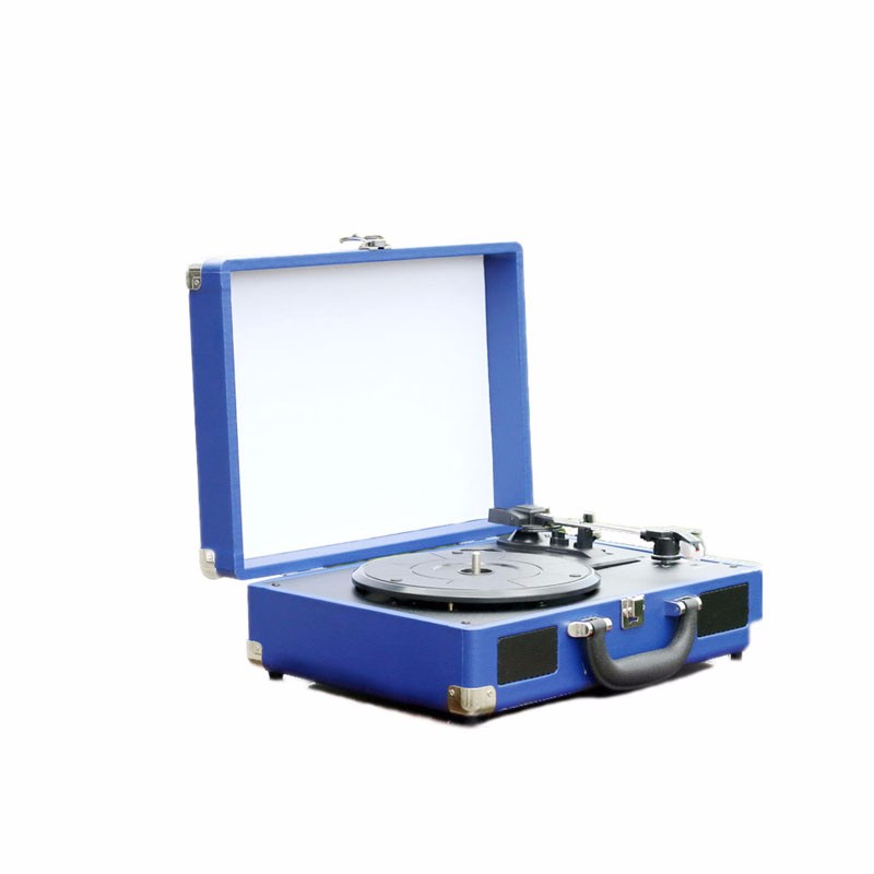 Latest Design Modern USB Record Gramophone Turntable Player for Sale