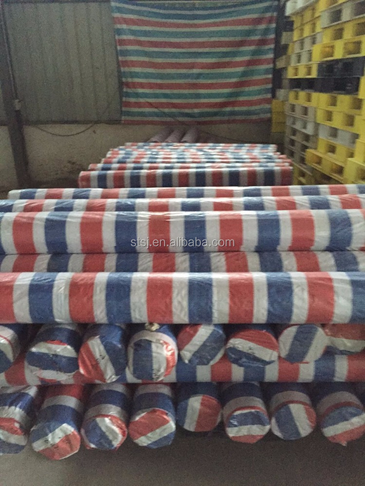 Vietnam blue PE tarp triple tarpaulin in roll coated tarpaulin waterproof PVC tarps truck cover