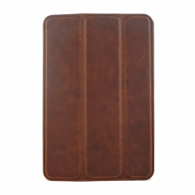Ultra slim genuine cowhide leather +PC hard tablet cover case For ipad air,for ipad pro with stand function