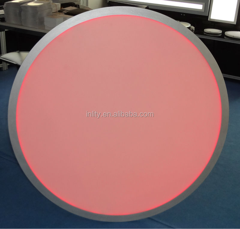 RGB High brightness and big size LED round panel Lights used at office