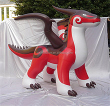 2017 New design Hot sale inflatable zenith dragon for advertising