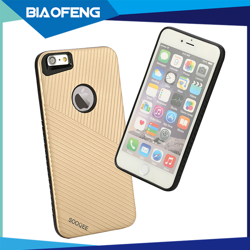 Small fast selling items ultra slim mobile phone case for iphone 6 tpu pc hybrid hard case