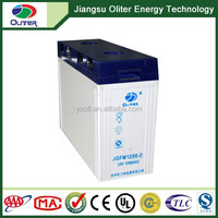 2V rechargeable power storage solar gel battery 2V1200ah