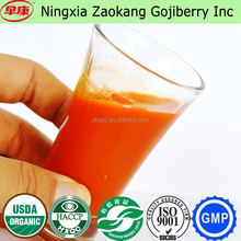 Ningxia Zaokang 100% pure Fresh Goji berry Raw Juice goji Juice Concentrate