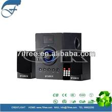 china factory cheap price 2.1 ch Speaker in SKD! high quality speaker parts OEM/ODM