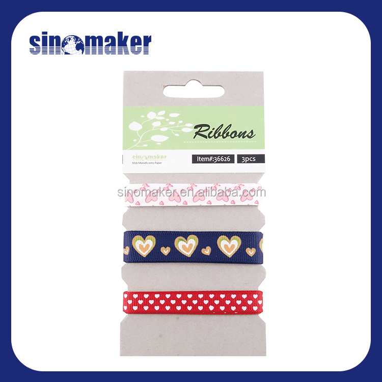 china manufacturer single face colorful DIY nylon ribbon