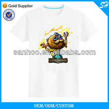 80% Cotton 20% Polyester Short Sleeve New Design T-Shirts