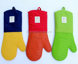 High Resistant Silicone Oven Gloves, Silicone Barbeque Gloves With Factory Price