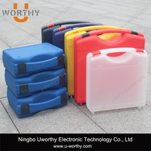 easy carrying lightweight pp material box plastic case for electrical device storage
