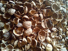 Crushed Walnut Shell as cleaning material