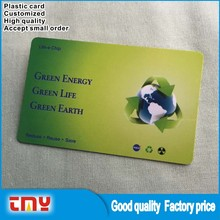 Promotional Cheap Price Advertising Gifts Plastic Card Manufacture in China