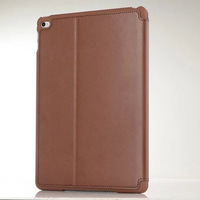 Genuine leather flip case for ipad air 1/2/mini,luxury high quality pu leather case for ipad air
