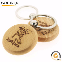 wood carving keychain wooden key ring key holder
