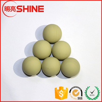 friendly NBR/Viton/Silicone/EPDM solid rubber ball for valve