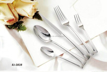 European style porcelain and fancy dinnerware set,stainless steel flatware,cutlery