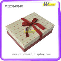 Custom Red Dots Paper Gift Box