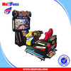 Amusement Center Coin Operated Game Machine Simulator 55 Inch LCD Full-motion Video Racing Car Game