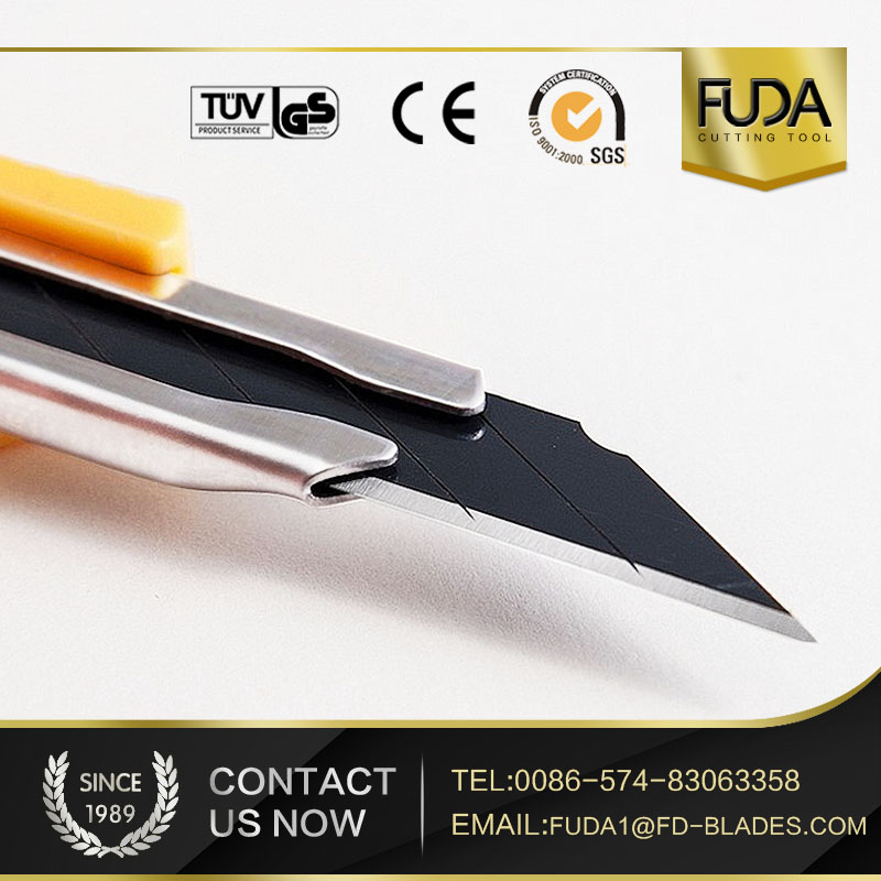 sliding folding cutter plastic box cutters retractable snap-off high stainless steel utility knife