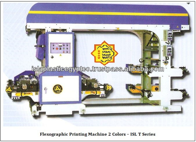 2 Colors Automatic Flexographic printing machine