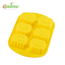 Pumpkin soap molds , silicone soap and candle molds, fondant silicone mold