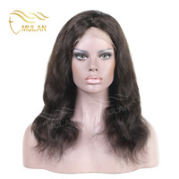Natural scalp 100% india sexi human hair lacefront wig for women
