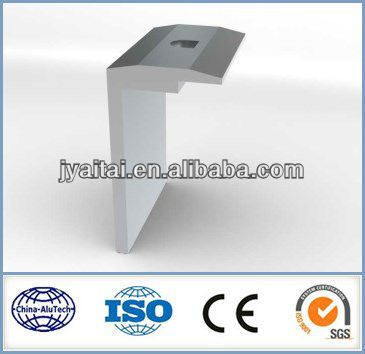 good surface aluminium solar profile