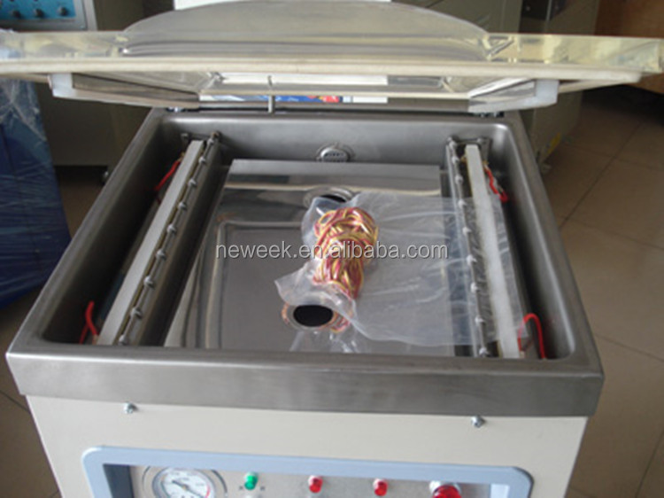 NEWEEK commercial electric snack food sealer dry fish cooked food vacuum packing machine