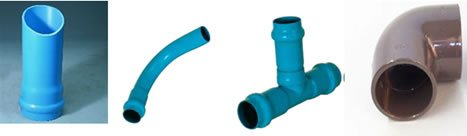 PVC Pipe and Solvent weld Fittings