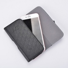 New fashion black PU leather phone case for Iphone 4.7''-5.5''