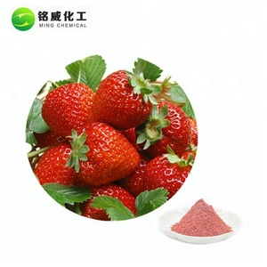 Pure Natural Spray Dried Instant Concentrate Strawberry Fruit Juice Powder