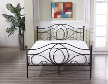 Germany style metal bed king size metal bed for home furniture