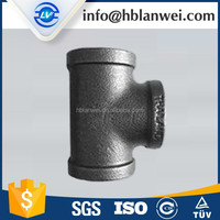 Heavy duty tee Malleable Iron Pipe Fittings for SAU market