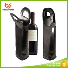 China supplier promotional wholesale pvc wine tote bag