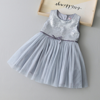 2020 New product baby girl cotton frocks designs summer cotton dress flower girl dresses for party