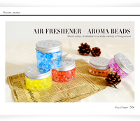 colorful crystal gel home air freshener for home decor