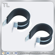 rubber lined cable band lock hose clamp o ring seals r clamp r type cable clamps