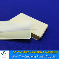 Hot Sticky Back Laminating Sheet Self Adhesive Plastic Laminating Pouch Film