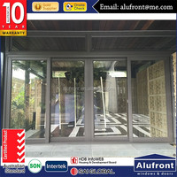 energy saving Australia standard used commercial glass doors for sale/glass door/swing door