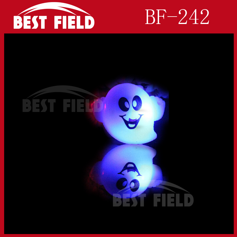 Halloween pumpkin fashion LED led ghost ring